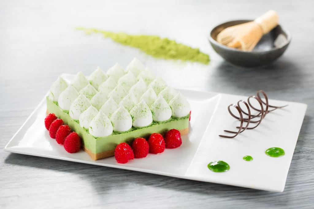 """0有找食尽绿茶甜品!尖沙咀酒店""""绿茶花园""""下午茶自助餐"""