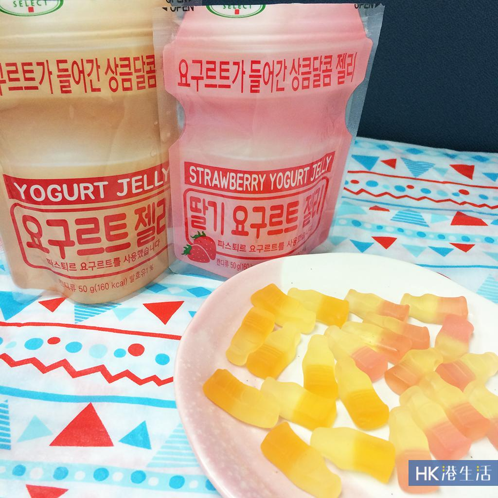 韩式小食店惊见!韩国人气益力多软糖