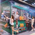 新打卡位!兩商場免費影3D美食錯視畫