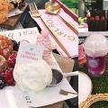 【聖誕節2018】葵芳玫瑰主題聖誕市集 玫瑰乾冰茶/牛油果醬漢堡/雜苺班戟