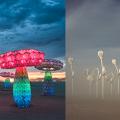 【金鐘好去處】巨型彩色蘑菇燈/摺紙花燈登陸金鐘!3月藝術月免費睇世界級展品