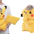 【POKÉMON神探Pikachu】電影偵探造型比卡超公仔 識搖尾/郁耳仔還原得意表情