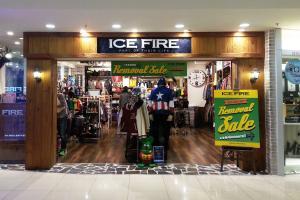ICE FIRE減價貨品 額外再八折