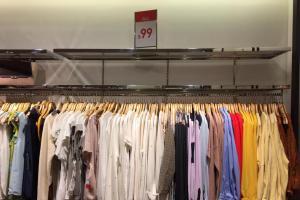ZARA 換季特賣區 衫褲裙一律$99