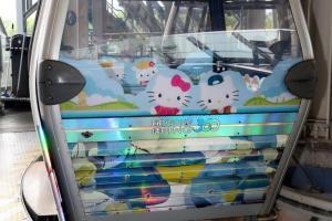 三個月限定! 昂坪Hello Kitty纜車 必掃限定精品