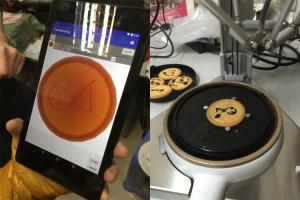 食物試玩4D食物打印機!鑽石山科技嘉年華