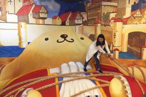 青蛙王子蛋黃哥、紅心皇后Kuromi!Sanrio家族3D畫展