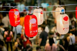 緣日秋祭 著浴衣品嚐日式美食