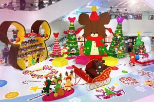 小熊學校聖誕展 全球最高4米JACKIE登場