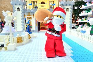 周末捕獲LEGO聖誕老人!朗豪坊、LEGO Store四大聯乘活動