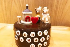 High-tea自製音樂盒蛋糕!LOG-ON x Wooderful Life主題限定café