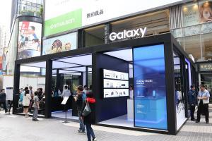 體驗動感聖誕 銅鑼灣Samsung Galaxy Studio