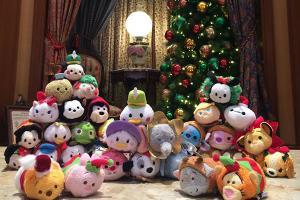迪士尼會員獨享!換指定聖誕TSUM TSUM