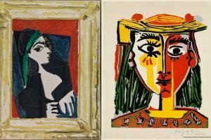 首次在西班牙以外展出!時代廣場「畢加索與積琪蓮」展覽