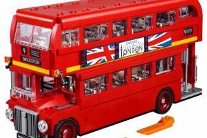 LEGO英倫雙層巴士 7月底動漫節率先開賣