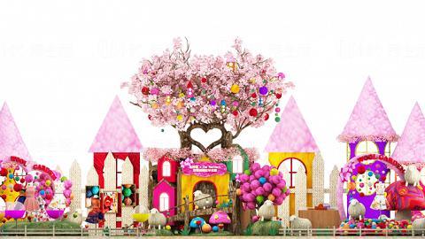 今個羊年,Debbie Leung將施展羊毛氈魔法,將新鴻基地產旗下將軍澳旗艦商場東港城打造成色彩繽紛的「春意綿綿牧羊花園」