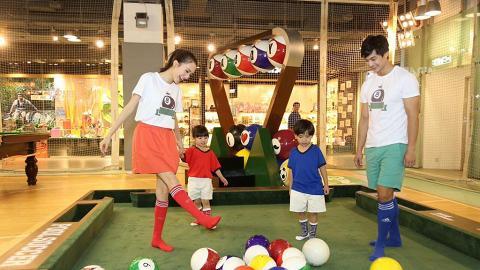 海港城有得玩「桌上足球」 租場費低至$15位