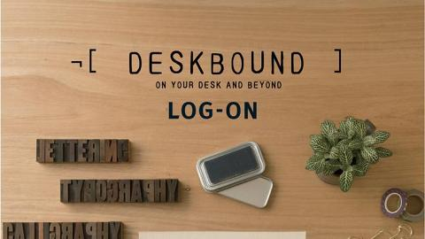 LOG-ON X  ¬ [Deskbound] 創作工作坊