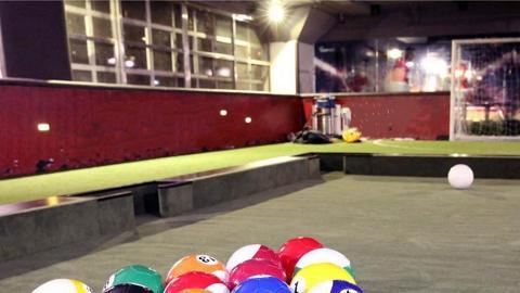 免費玩Pool Soccer、食雪糕! 柴灣沸青新年祭