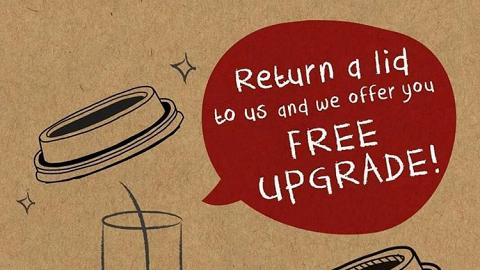 召集環保小先鋒!Pacific Coffee免費升級咖啡