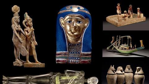 科學館展6具木乃伊+200件大英博物館珍品