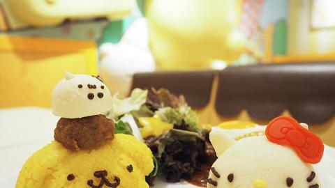 Hello Kitty x 布甸狗Cafe現身銅鑼灣!4款卡通造型食品登場