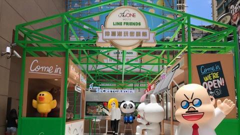 The One LINE FRIENDS主題商店大街 6大影相位+5大精品推介