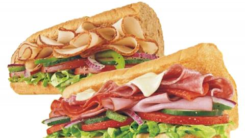 Subway潛艇堡限時買1送1 慶祝11月世界三文治日!