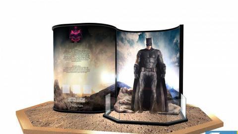 DC正義聯盟模型率先睇!6大超級英雄雕像+7米蝙蝠車