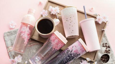 Starbucks春日櫻花系列登場 廿款新品哂冷