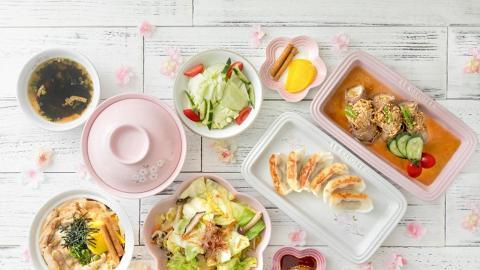 Le Creuset新系列登場!粉白色櫻花廚具