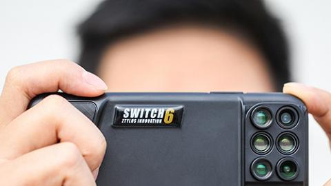 美國Switch 6手機殼 6個鏡頭輕易影出玩味相!