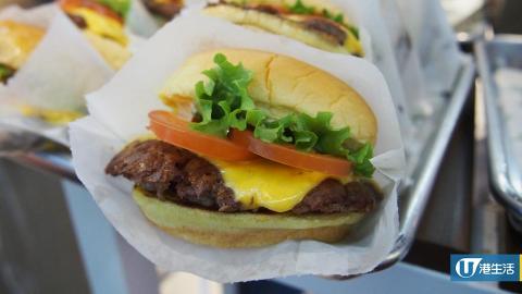 Shake Shack正式登陸中環ifc 率先試香港限定奶茶奶昔+招牌漢堡