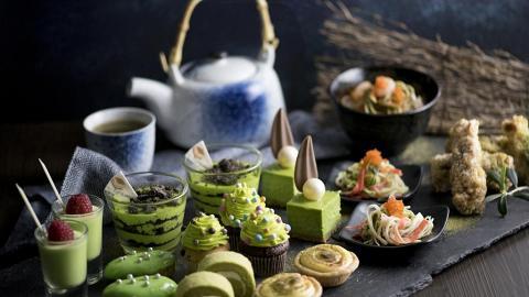 抹茶主題酒店下午茶自助餐 食勻多款抹茶鹹甜點