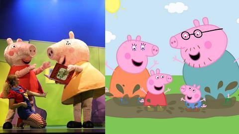 人氣卡通Peppa Pig明年1月再來港 溫馨家庭回憶搬上舞台