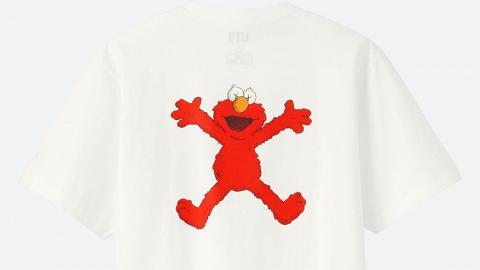 【UNIQLO新品】KAWS x芝麻街聯乘系列6月登場!10款$99 Tee率先睇