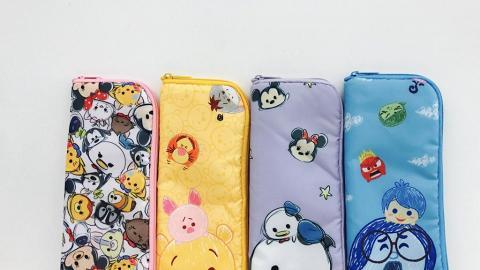 7-Eleven便利店全新迪士尼Tsum Tsum精品!手提風扇/雨遮套/散紙包/手挽袋
