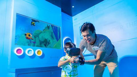 【天水圍好去處】奇幻海底世界正式登場!深海萬花筒鏡面房/尋魚奇兵VR
