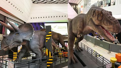 【 元朗好去處 】恐龍實驗室香港站搶先睇 免費睇31尺長暴龍+9大恐龍模型/化石