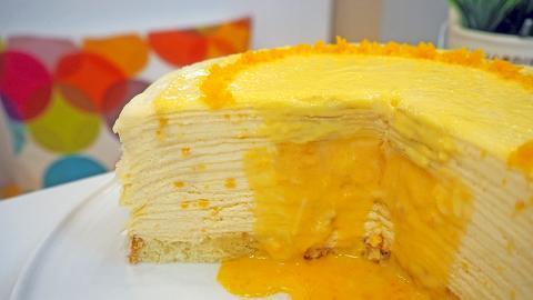 【西營盤美食】蛋糕小店新搞作 香港首創流心鹹蛋黃奶黃/港式奶茶味千層蛋糕