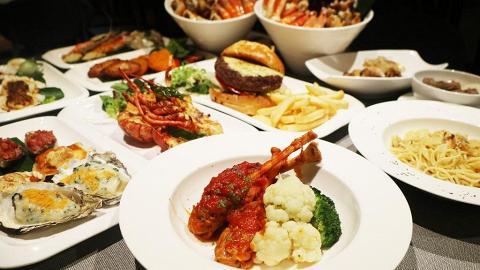 【葵涌美食】酒店自助餐任食冰鎮海鮮/熱盤+任點羊扒/和牛/小食