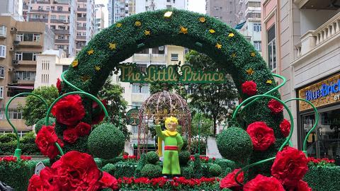 【灣仔好去處】小王子浪漫童話花園!紅玫瑰園+情侶影相位