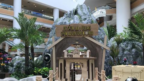 【奧運好去處】全港首個大型木製森林 識郁火車/1.5米高陀螺