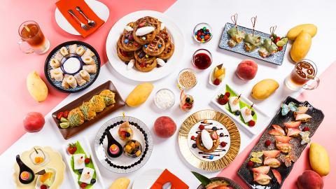 【油麻地美食】酒店水蜜桃/呂宋芒下午茶自助餐 任食泰菜/芒果糯米飯/桃甜品