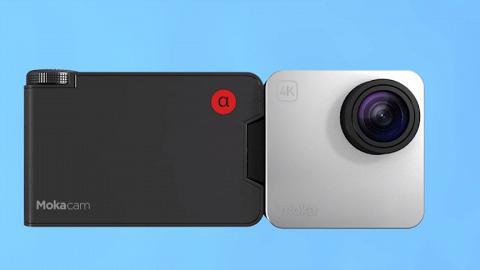 4K迷你隨身貼相機登場!可貼在身/180度自拍鏡頭