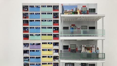 彩虹邨+南山邨縮影!香港舊式屋邨迷你模型架優先發售