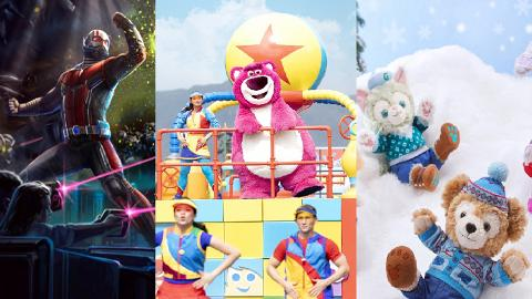 【迪士尼樂園】迪士尼2019節目預告率先睇!蟻俠園區3月開幕/Duffy新品