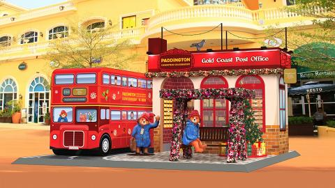 【聖誕節2018】柏靈頓熊聖誕登陸屯門黃金海岸!2米高英倫紅巴士/紅郵筒