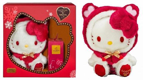 【聖誕禮物2018】GODIVA x 小紅帽版Hello Kitty 11月限量朱古力禮盒登場
