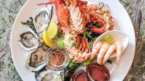 【淺水灣美食】影灣園露台餐廳推海鮮半自助餐 歎主菜+海鮮拼盤任食沙律甜品